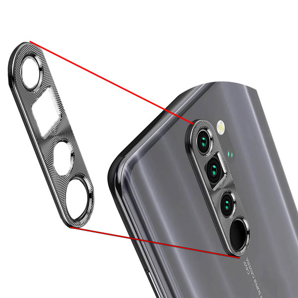 محافظ لنز فلزی دوربین